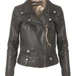 MDK Seattle New Thin Leather Jacket - Black