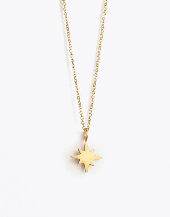 Wanderlust Life Fine Gold Chain Necklace - Petite Nova Star