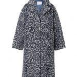 Stand Maria Faux Fur Coat - Blue/Grey Leo