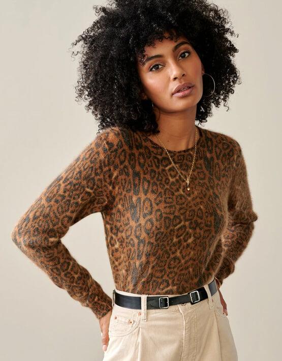 Bellerose Datti Jumper - Leopard