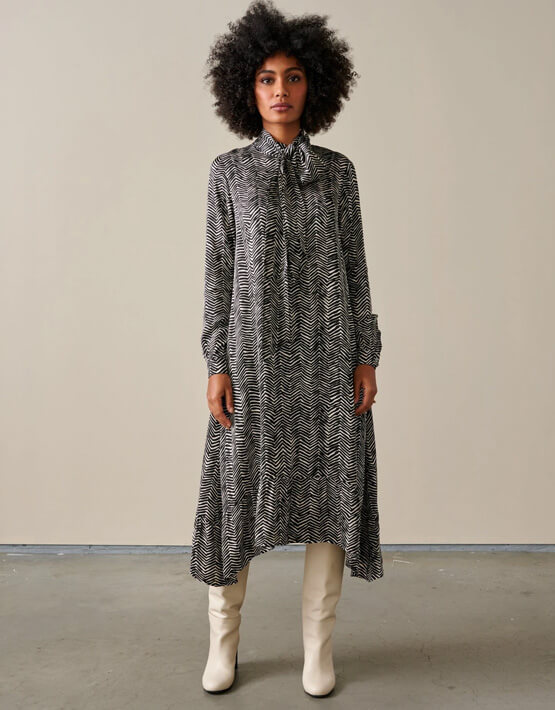 Bellerose Liesbet Dress - Black/White