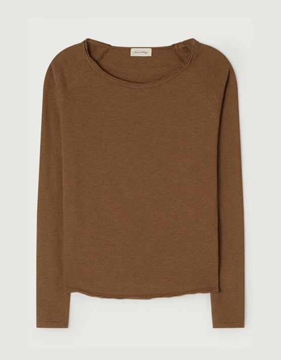 American Vintage Sonoma T Shirt - Teddy Bear Melange